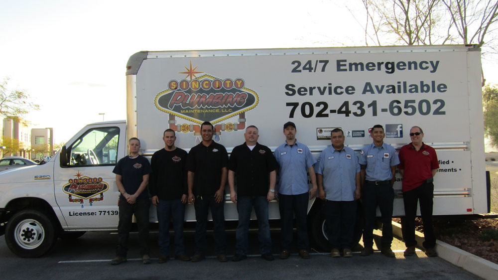 Sun City Plumbing Employees