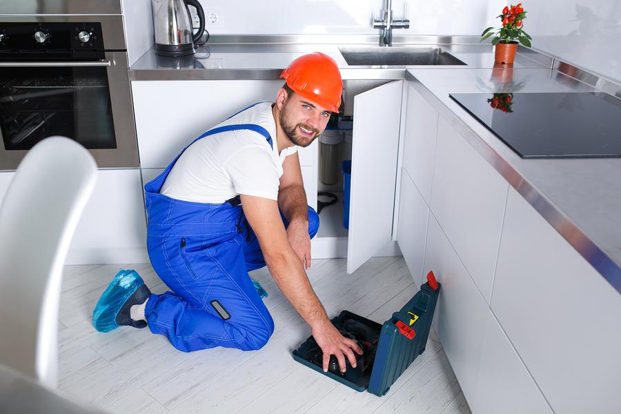 plumbing kitchen remodel