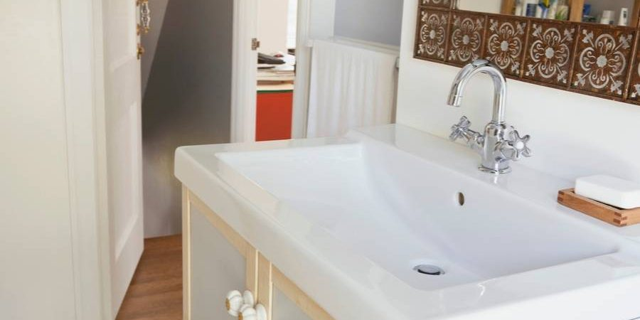 Installing A Bathroom Sink The Easy Way Sin City Plumbing