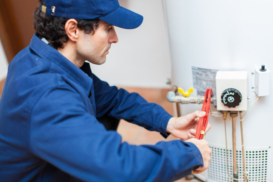 fixing water heater