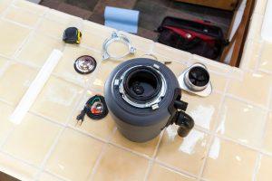 sink disposal taken apart